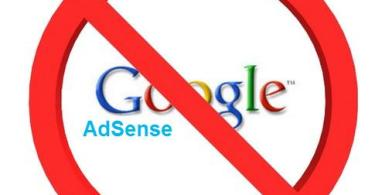 Banned By Google Adsense,