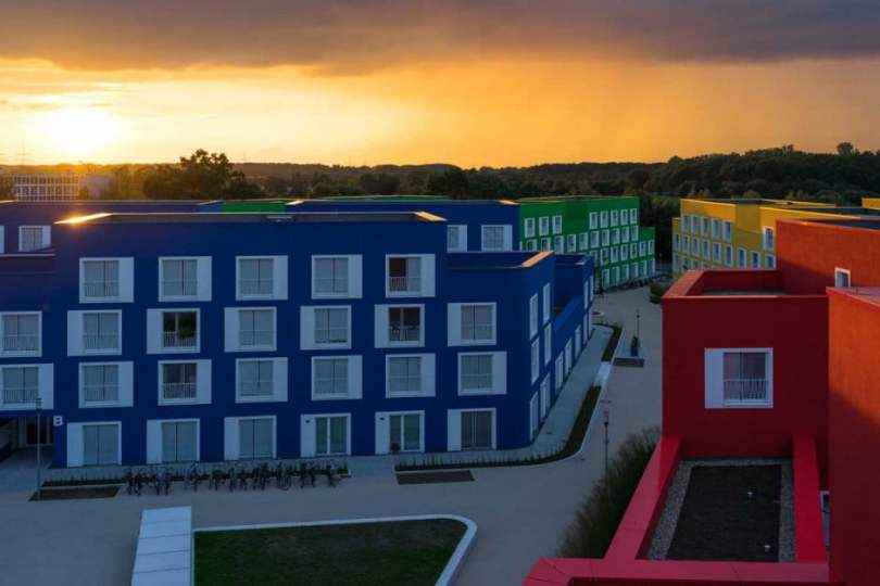 Bold and Beautiful Designs of Council and Student Housing in Munster, Germany by Kresings GmbH-10
