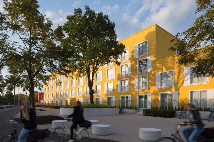 Bold and Beautiful Designs of Council and Student Housing in Munster, Germany by Kresings GmbH-9