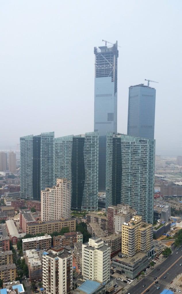 Eton Place Dalian Tower 1 in Dalian, Tallest Building, tallest building in the world, tallest building in the world under construction, tallest building in the india, future tallest building in the world, tallest building in world under construction, upcoming tallest building in the world, thinnest building in the world,