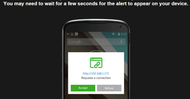 whatsapp with airdroid,