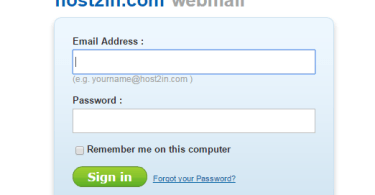 professional email address with host2in,