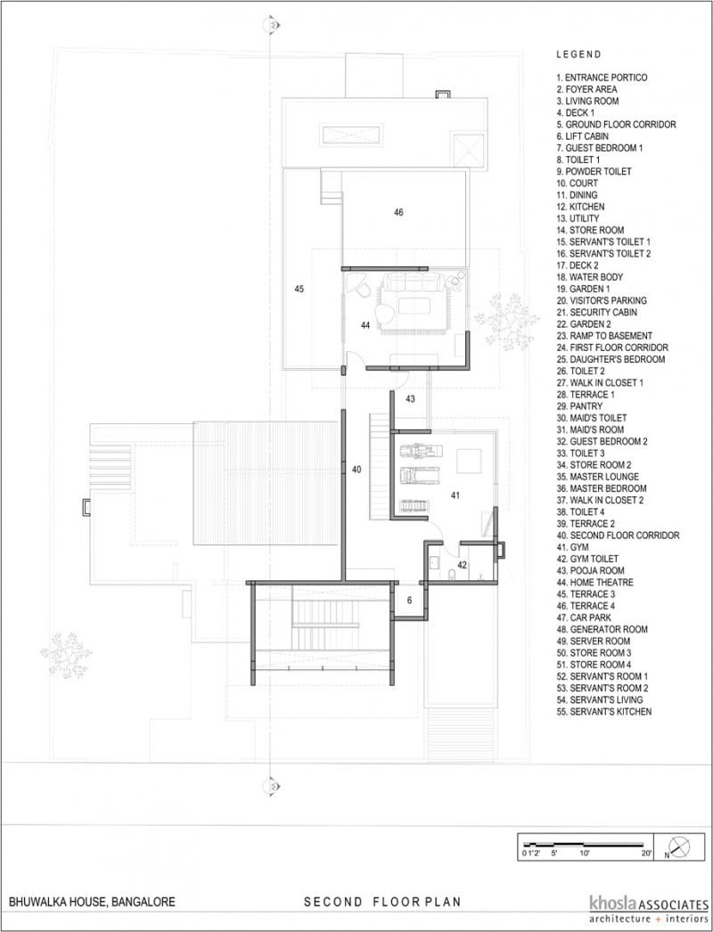 Double Height Living Spaces,