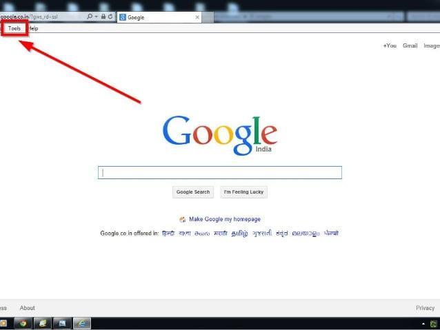 How to reset Internet Explorer1
