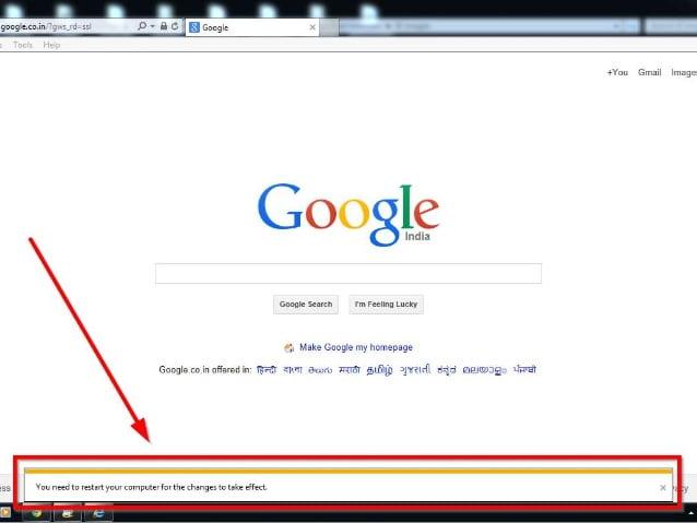 How to reset Internet Explorer7