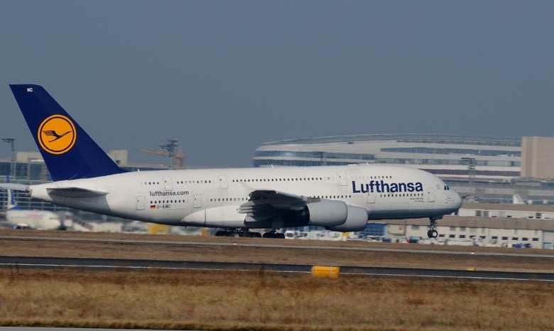 lufthansa's airbus a380,