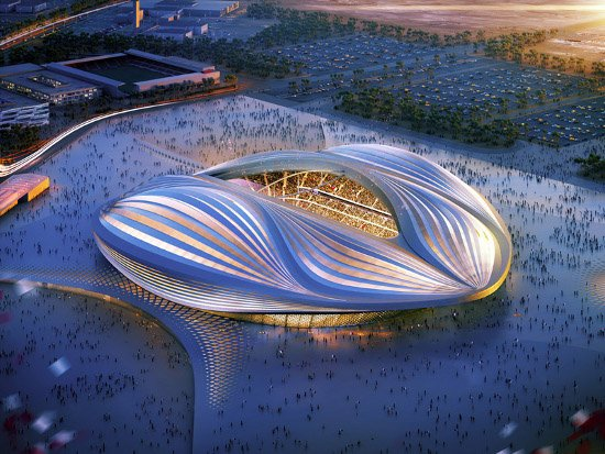 Al Wakrah Stadium design, Al Wakrah Stadium photos,