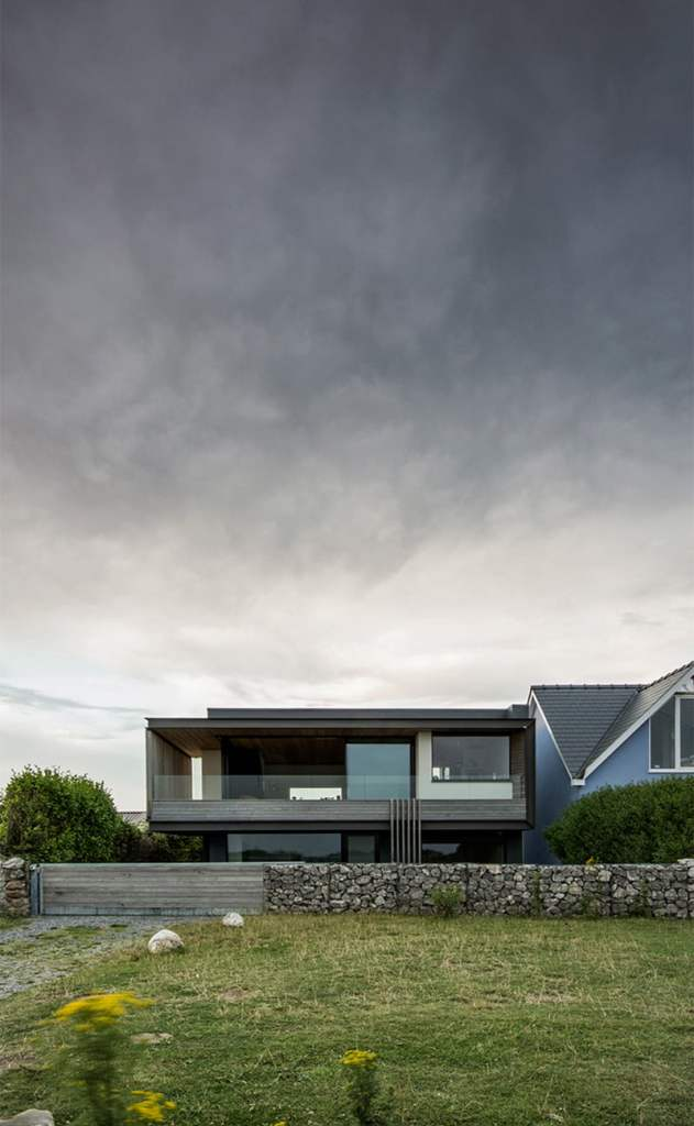 modern cliff house contemporary architecture style,