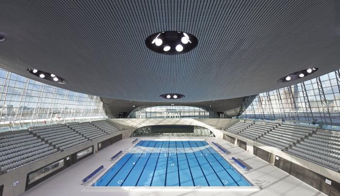 London Aquatics Centre pool,