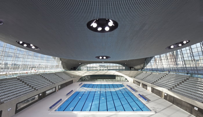 London Aquatics Centre pool,