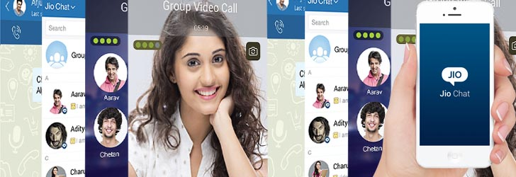 Reliance Jio Apps, jio chat app,