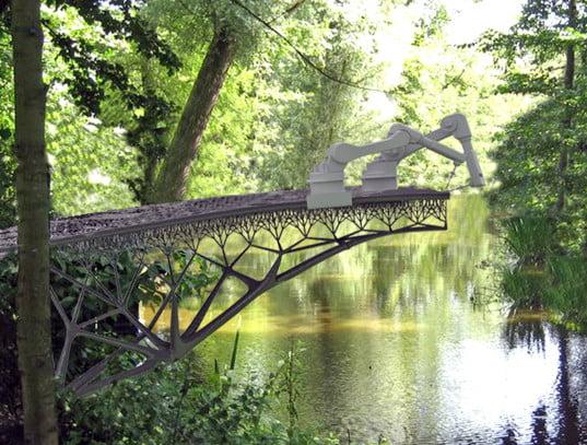 Construction Technology, 3D Printed Steel Bridge, Amsterdam,