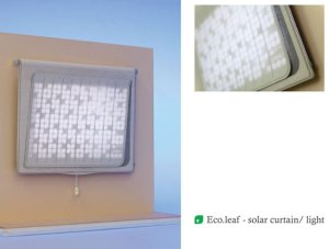 Eco.Leaf Solar Curtain Light Incorporates Green Technology Into Everyday Home Product 3