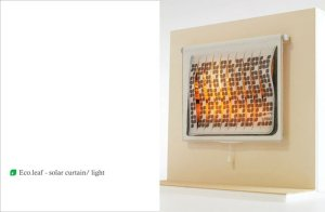 Eco.Leaf Solar Curtain Light Incorporates Green Technology Into Everyday Home Product 5