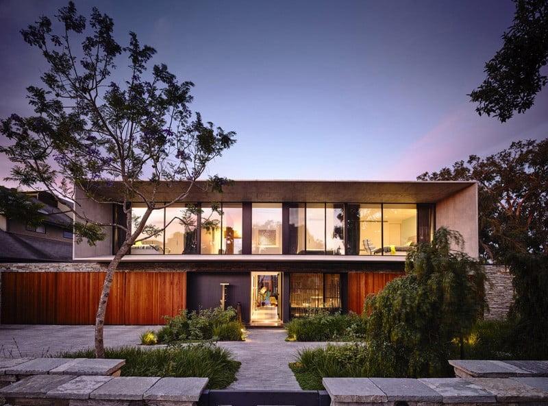 concrete house,