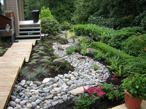 Ground Cover and Stone To Shape Your Small Garden Ideas
