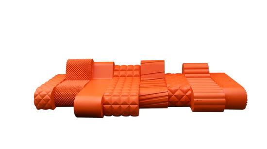 SIXINCH-Orangebeast- outdoor plastic furniture (Courtesy SIXINCH)