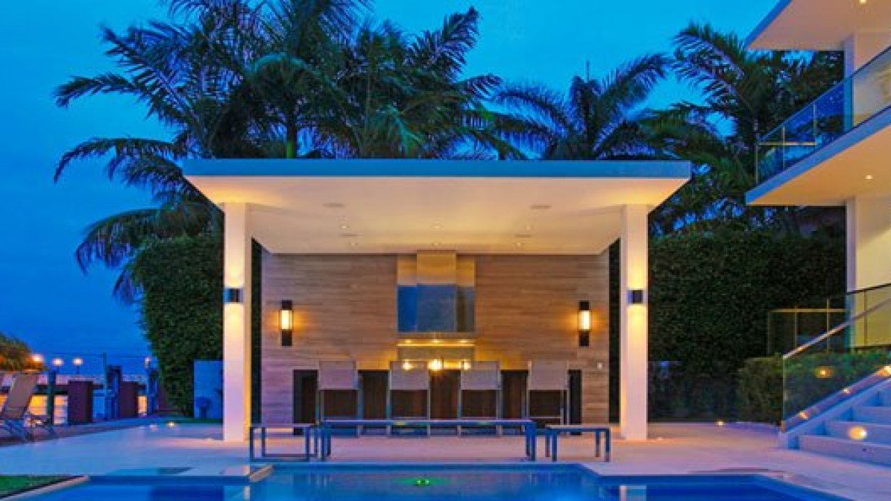 Poolside Bar And Bbq Design Ideas For Your Modern Home