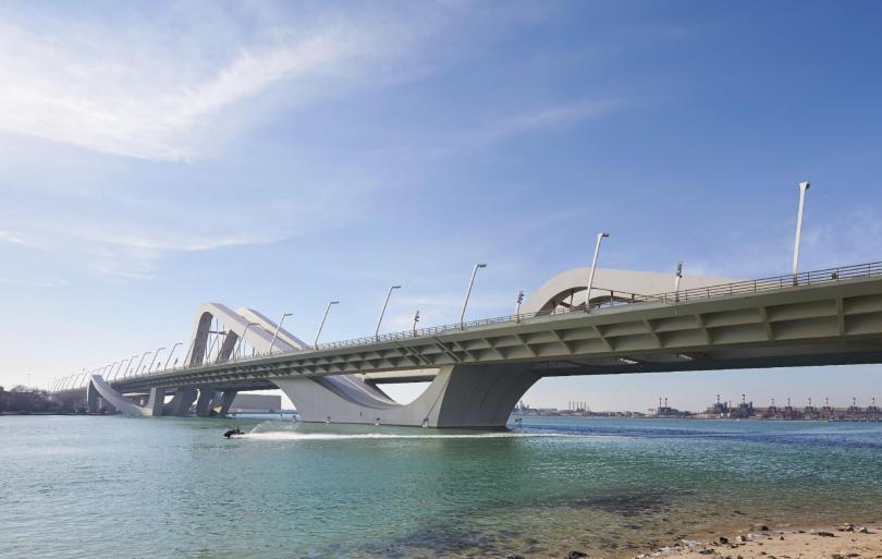 Sheikh Zayed Bridge,