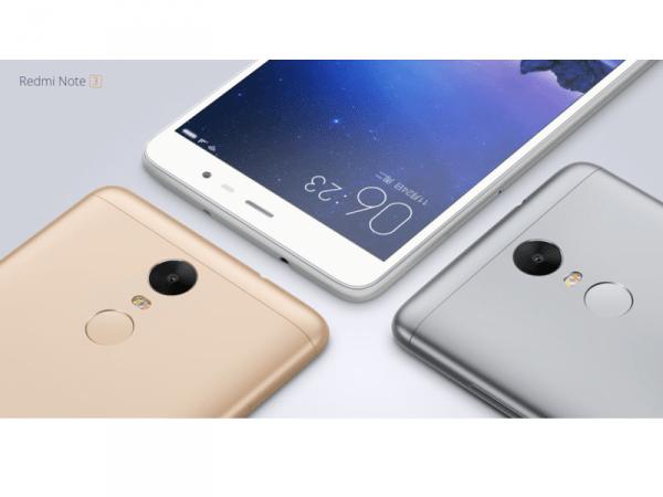 Xiaomi Redmi Note 3,