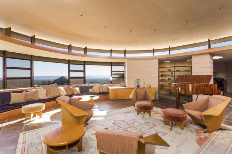 Norman Lykes Home design by Frank Lloyd Wright last work by FLW -