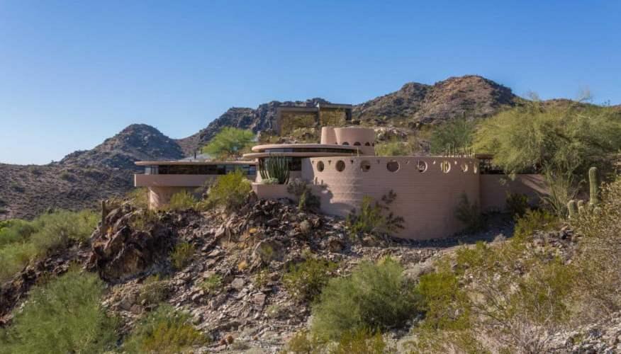 house design by architect frank lloyd wright,