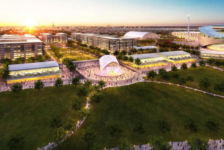 Washington DC Olympic 2024 Master Plan by Gensler 3