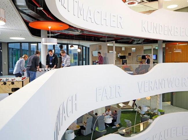 second floor games lounge, Office Interior Design Ideas,