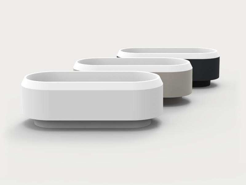 Lariana compact bathtub by agape