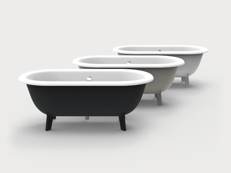 Ottocento Small bathtub from agape