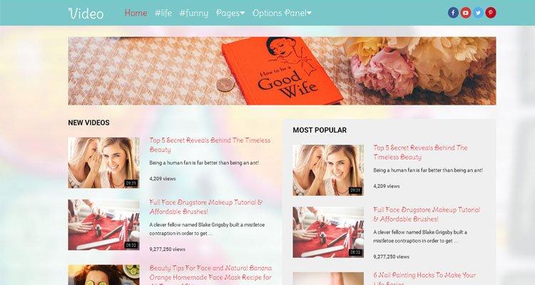 best-video-wordPress-theme-for-mommy-blogging