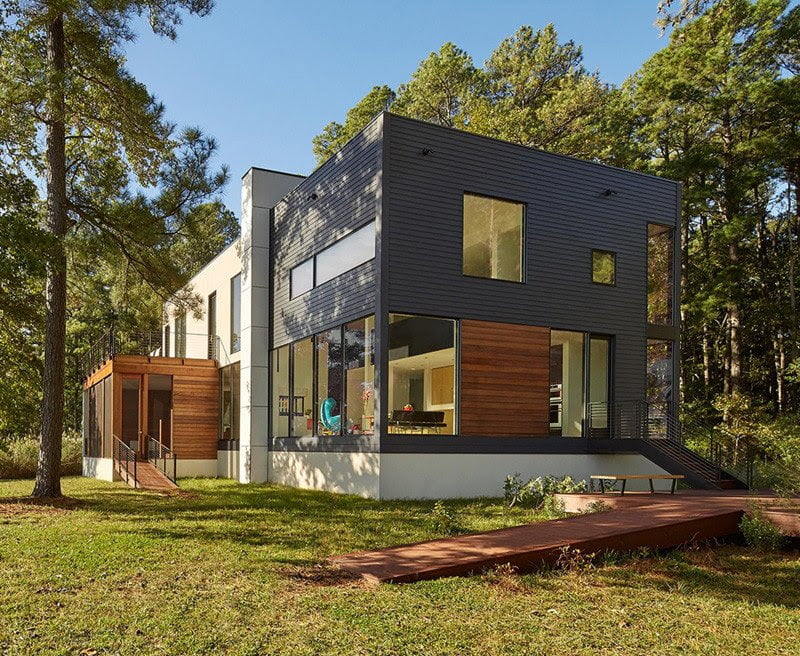 house design for view of surrounding natural beauty