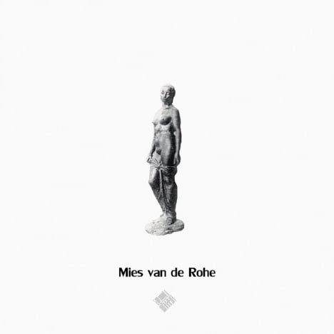 Mies van de Rohe's Style to draw Human scale