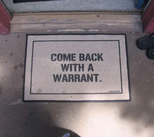 come-back-with-a-warrant-custom-doormat