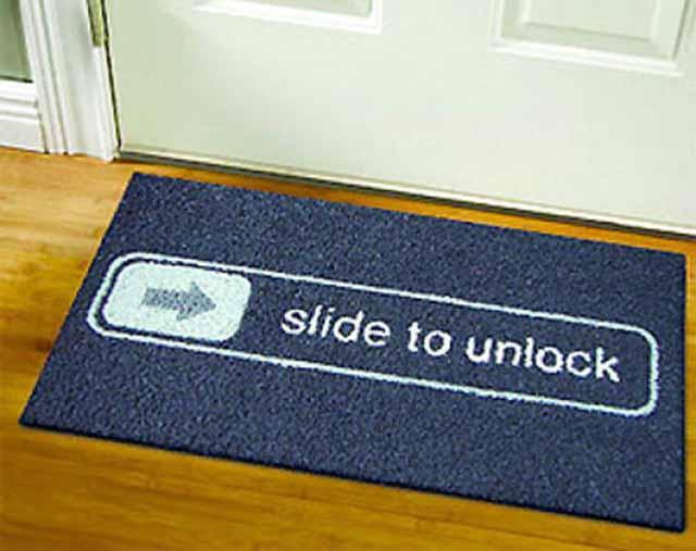 creative funny door mat ideas