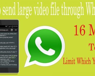 How To Send 1Gb Files On Whatsapp Apps,