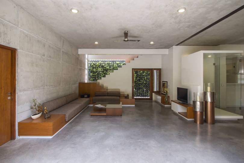 Badri Residence A Modern Indian House Architecture Paradigm (10)