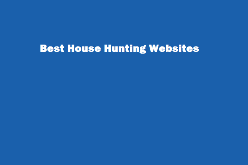 house hunting websites,