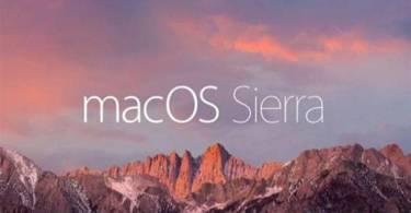 MacOS Sierra,