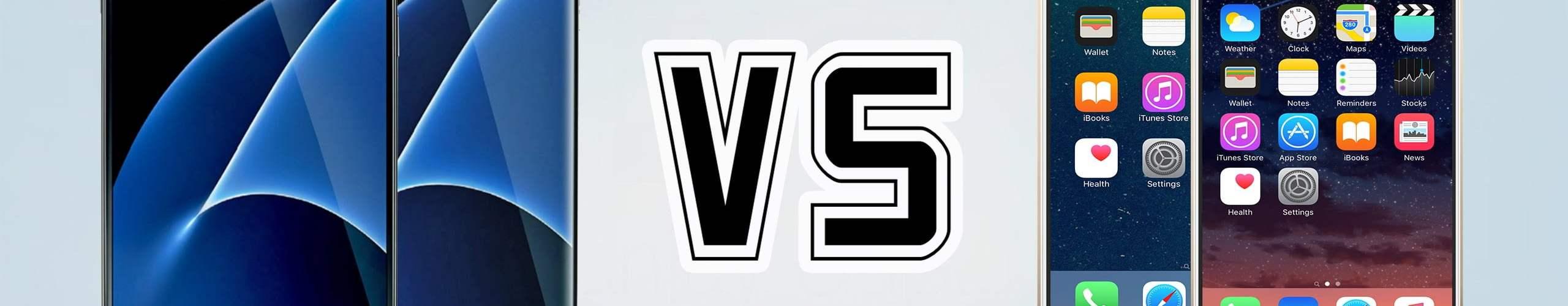 iPhone 7 vs,