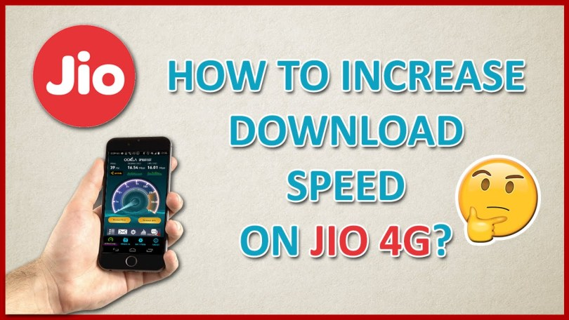 Increase Jio Speed,