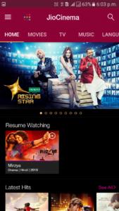 Jio TV on Chromecast,