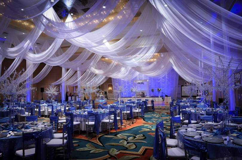 Ideas for wedding decorations for the reception,