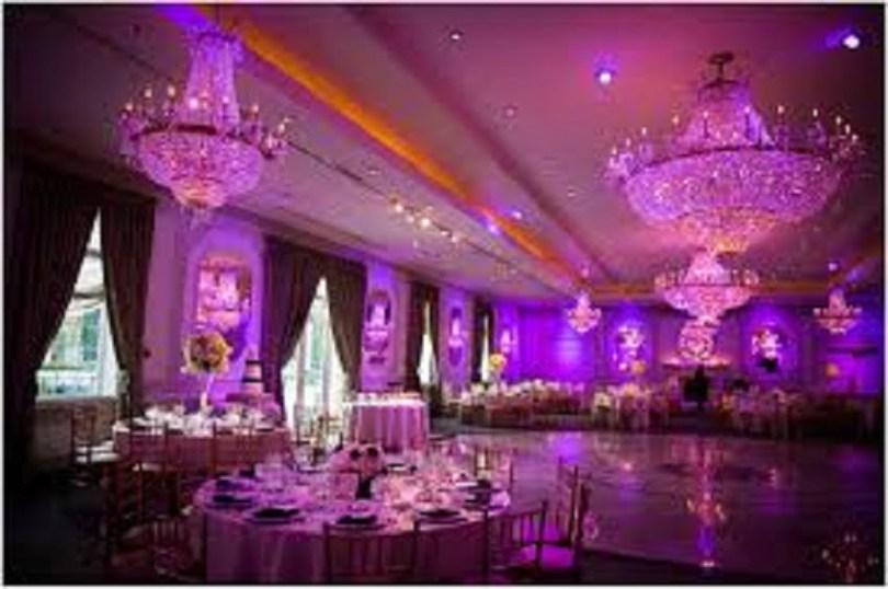 Indoor wedding reception decoration ideas,