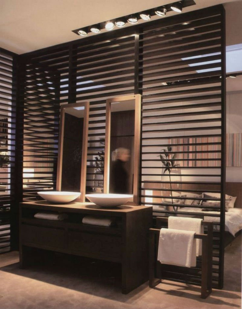 wooden partition wardrobe designs,