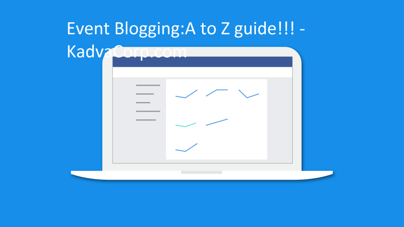 Event Blogging A to Z guide