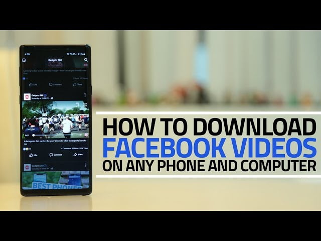 Save Videos from Facebook, download facebook video,