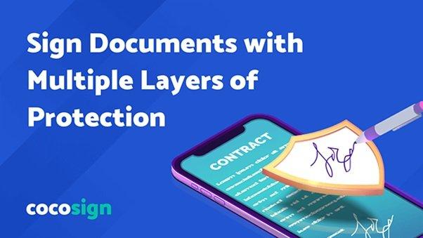 cocosign, sign pdf online, e-sign pdf, online format,