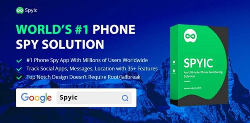 Spyic Android app,