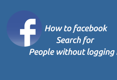How to Do Facebook Search For People Without logging in